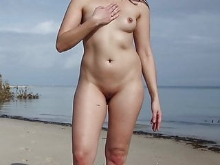 Tattooed naked woman - Naked woman talking