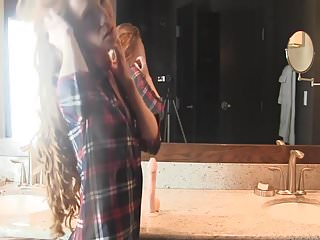 Skinny and pettite sex - Incredibly beautiful girl alone with her toy