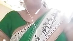 Tamil hot teacher showing her boobs and navel to her bf