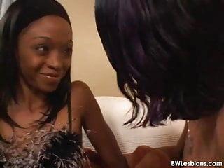 Black tgirl porn video - Spicy interracial lesbian porn video