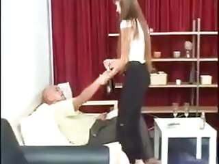 Dad loves my tits Stp3 loves a fuck with flexible daughter