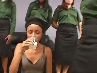 Gay euro military menn Brazilian cruel military lesbian spit humiliation