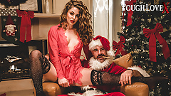TOUGHLOVEX, Crystal Taylor has a present for Bad Santa X