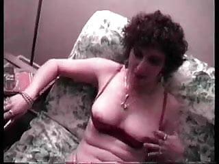 Deepthroat cum guzzling - Another cum guzzling granny