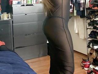 Sexy see-through - Sexy gf see through
