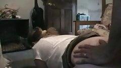 Chubby girl take it in ass