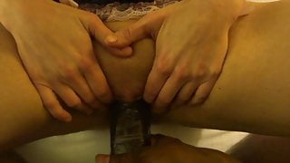 Interracial - BBC Bull servicing your trophy Hotwife