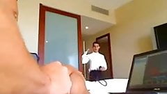 Daddy in Hotel Room