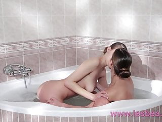 G spot one hour orgasm Lesbea busty lesbian has g-spot orgasm during soapy romp