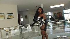 POV! High Heeled Black Girl Lori Alexia Gets BBC Lex Steele!