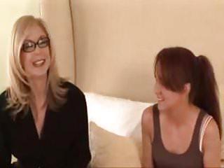 Lesbian massage mature young seduction Mature les seduction