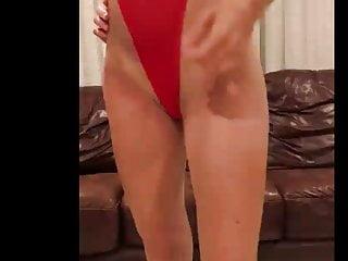 Bikini suits Red suite