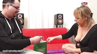 MyDirtyHobby - Kinky guy came with gifts for his MILF escort