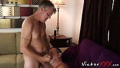 Daddys with piercings love to fuck hard