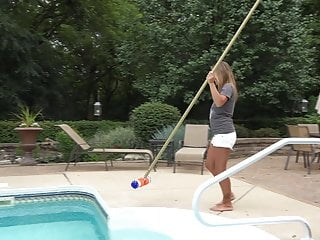 Sims 2 bbw Nikki sims pool cleaner full video topless big tits