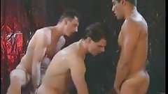 Hot Hunks Threesome