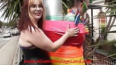 Public Bondage Lesbian Humiliation Mummification FemDom SF
