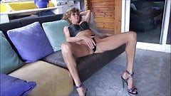 Sexy Fit GILF With Longs Legs Play With Pussy - MrBrain88