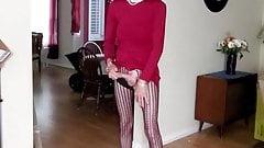 Bobbie Quest Red Dress seduction
