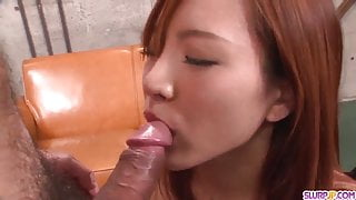 Yuika Akimoto sucks like crazy unti - More at Slurpjp.com