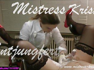 Femdom strap - Mistress kristin - sissy slave deflorated - femdom strap on