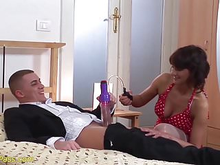 Extremely brutal dildo Extreme stepmom needs rough sex games