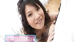 Suzuki Chao Tokyo teen gives amazing blowjob before getting