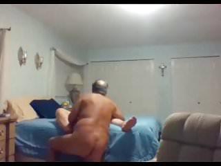 Adult grandpa and grandma Grandpa and grandma on webcam