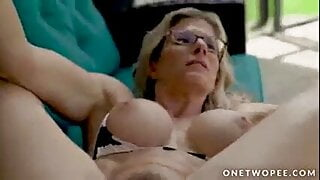 Cory Chase is a piss loving slut stepmom.