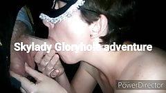Gloryhole event starring SKYLADY Orlando Florida