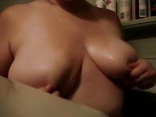 Hot soapy boobs Soapy boobs