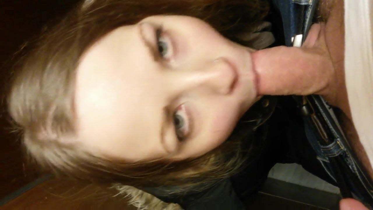 Green Eye Amateur Blowjob