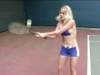 Tennis bare breast Girls in love - katie and sabrine in lesbian tennis lesson