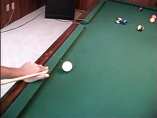 Asian style tea table Pool table action