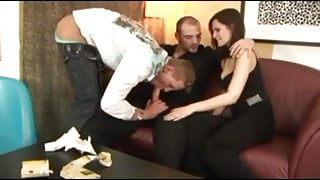 Bitchboy gets anal drill from his girlfriends coworker 20200