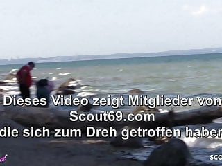 Beach sex men porn - Public sex on beach from german teen with old stranger guy