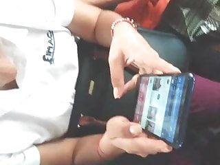 Teen arm warmers Groped arm dick arrimon en brazo public bus