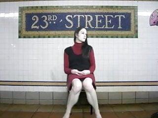 Vintage panties panty peeks Panty peeks and the downtown 6 train.