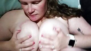 Bbw huge tit wife Nichole knockers titty fucking compilation