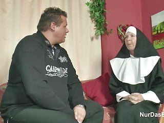 Church father fucking girls video German milf nun get fucked by the pastor in church