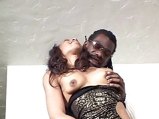 Lingerie see Black couple getting wild after a long time of not seeing each other