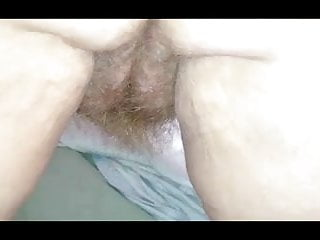Breasts s all - Wifes big hairy asshole hairy pussy on all 4s