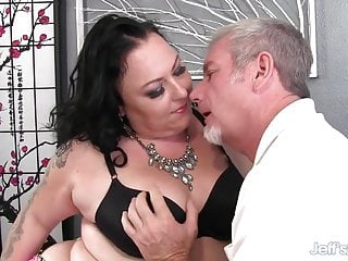Calista valentine nude pics - Grandpa passionately pounds thick hips bbw calista roxxx