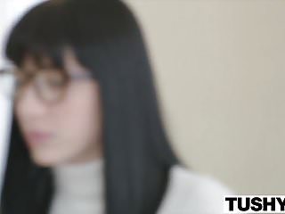 Tutoring adults Tushy anal discipline with my tutor