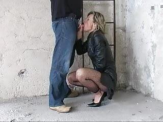 Fantastci nudes German fantastci blow part 2 leather coat heels