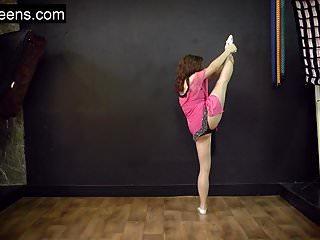 Flexible fetish model Teen hot flexible model