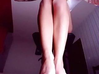 Dangling heels voyeur Dangling heels