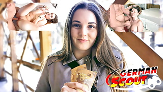 GERMAN SCOUT - CURVY SCHOOLGIRL PICKUP AND FUCK FOR CASH