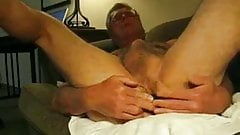 Dirty Old Man Pleasures Himself Man Hub