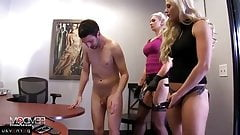 Holly Heart and Gigi Allens pegging